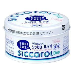 薬用シッカロール デオ パフ付 140g (医薬部外品) / アサヒグループ食品|starmall