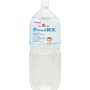 アサヒグループ食品 ベビーのじかん 赤ちゃんの純水 2L×6...