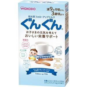 フォローアップミルク ぐんぐん スティック 14g×10包 / アサヒグループ食品|starmall