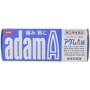 皇漢堂製薬 アダムA錠 60錠 (指定第2類医薬品)|starmall