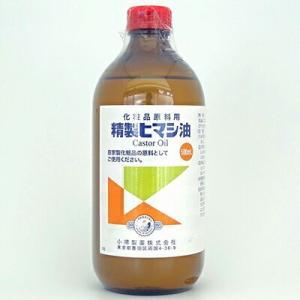 精製ヒマシ油 500mL / 小堺製薬|starmall