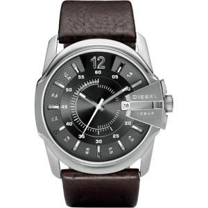 即納可能 DIESEL DZ1206 ディーゼル メンズ ウォッチ 時計 レザーベルト 腕時計