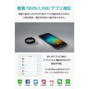 【世界シェアNo.1】【正規品1年保証 | 国内技適認証済】スマートウォッチ Xiaomi Mi Band 2 活動量計 歩数計 心拍数計 睡眠モニター 着信/SMS/LINE通知|starq-online|06