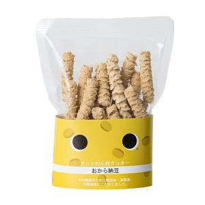 ペット用 おやつ 枝クッキー おから納豆 ドットわん 犬 保存料無添加|starry