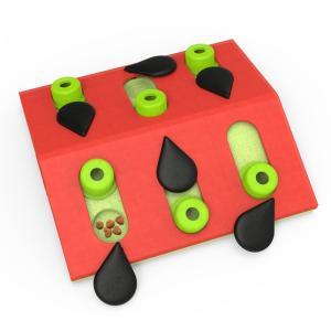 おもちゃ 知育玩具 トリーツ・ゲーム ウォーターメロン レベル2 Nina Ottoson ニーナ・オットソン 猫用 知育トイ|starry