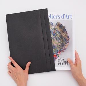 フラットA4 SIWA 紙和 4色 ファイル A4カバー【ホーム】【ビジネス雑貨】|starry
