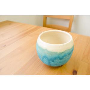 グラス 環窯 たまきがま / グラス-丸型湯呑み ロックグラス トルコ釉 ギフト|starry