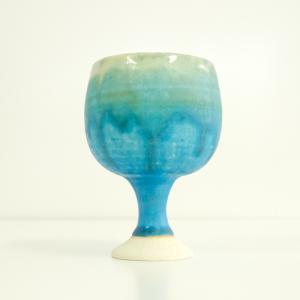 ワイングラス 環窯 たまきがま / ワイン グラスグラス トルコ釉 ギフト|starry