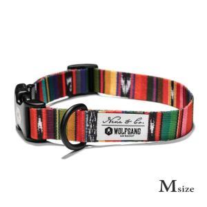 犬 首輪 M size 首周り:33〜47cm  Antigua  ウルフギャング WOLFGANG   アメリカンメイド|starry
