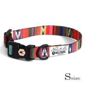 犬 首輪 S size 首周り:23〜32cm  Antigua   ウルフギャング WOLFGANG    アメリカンメイド|starry
