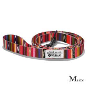 犬 リード M size 全長:122cm ウルフギャング WOLFGANG   Antigua  / アメリカンメイド|starry
