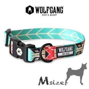 犬 首輪 M size 首周り:33〜47cm ウルフギャング WOLFGANG  FurTrader COLLAR/ アメリカンメイド|starry