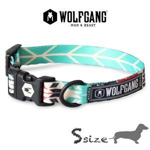 犬 首輪 S size 首周り:23〜32cm ウルフギャング WOLFGANG  FurTrader COLLAR/ アメリカンメイド|starry