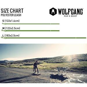 犬 リード  ウルフギャング WOLFGANG LokiWolf Mサイズ 全長 122cm|starry|04