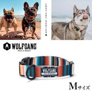 犬 首輪  ウルフギャング WOLFGANG   LostArt COLLAR Mサイズ アメリカンメイド ネコポス便対応|starry