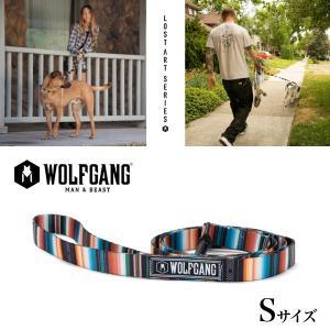 犬 リード ウルフギャング WOLFGANG LostArt Leash Sサイズ アメリカンメイド ネコポス便対応|starry