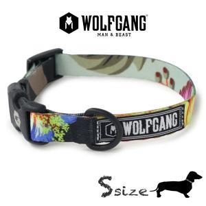 犬 首輪 S size 首周り:23〜32cm ウルフギャング WOLFGANG  StreetLogic COLLAR/ アメリカンメイド|starry