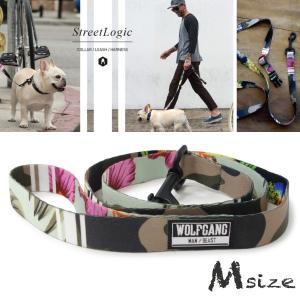 犬 リード  M size 全長:122cm ウルフギャング WOLFGANG   StreetLogic LEASH / アメリカンメイド|starry