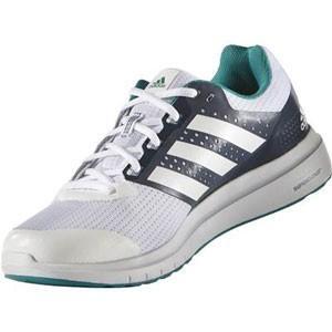 adidas アディダス ランニングシューズ AF6665 DURAMO 7 (ランニングホワイト/ランニングホワイト/ミネラルブルー S16) 靴 お取り寄せ商品|starsent