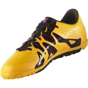 adidas アディダス サッカー スパイク S74663 エックス15.3 TF ジュニア (ソーラーゴールド/コアブラック/ショックピンク S16) 靴 お取り寄せ商品|starsent