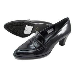 Beaufit ビューフィット ローファー パンプス A56WAD-BLEE エナメル レインシューズ ミドルヒール 美脚 レディース 靴 お取り寄せ商品|starsent
