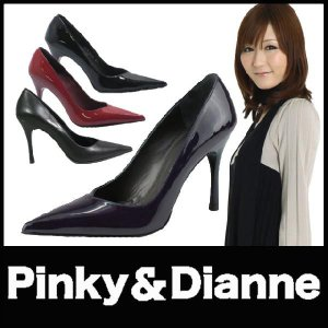 Pinky&Dianne ピンキー&ダイアン ハイヒール パンプス 黒 starsent