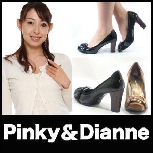 パンプス ハイヒールパンプス Pinky&Dianne 黒パンプス リーガル社製 starsent