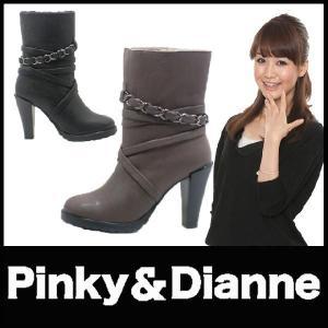 ブーツ ハイヒールブーツ Pinky&Dianne 黒ブーツ リーガル社製 starsent
