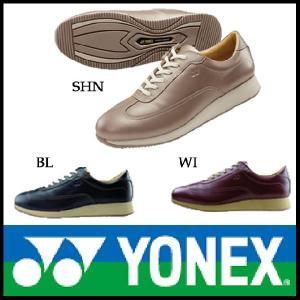 パワークッション ウォーキングシューズ YONEX ( ヨネックス )(LC56) レディース 黒 お取り寄せ品|starsent
