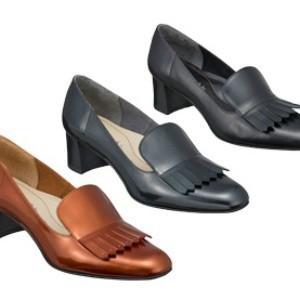 スクエアトゥ パンプス REGAL リーガル F49JAH フリンジ トラッド カジュアル 本革 レザー ミドルヒール レディース 靴 お取り寄せ商品 送料無料|starsent