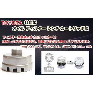 最近のトヨタ車は【ガソリン車種】。   多くはカートリッジタイプのオイルフィルターが採用されており ...