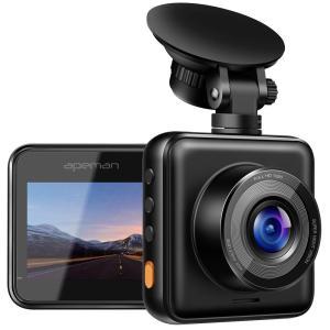 APEMAN C420 ドライブレコーダー 車載カメラ Gセンサー WDR機能搭載 高画質 1080...