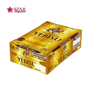 ビール サッポロ エビスビール 350ml×24本 1ケース|stary