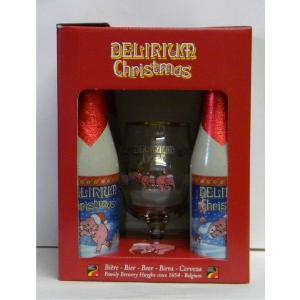 デリリュウム・クリスマスギフト グラス付き 4本セット ギフトボックス[輸入ビール ベルギービール]|stary