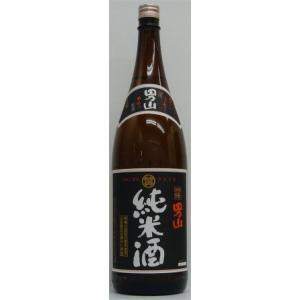 羽陽男山 純米(黒ラベル) 1800ml|stary