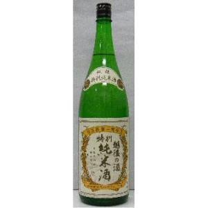越後鶴亀 特別純米酒 1.8L stary