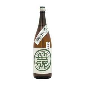日本酒 笹祝  無濾過純米酒 1.8L ギフト 1升瓶 御歳暮 クリスマス|stary