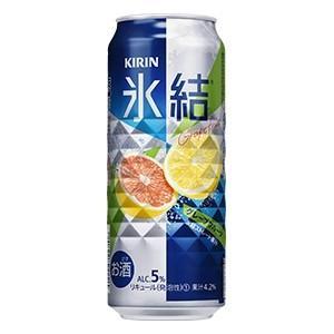 キリン 氷結グレープフルーツ 500ml×24缶(※送料:沖縄県・離島は500円)