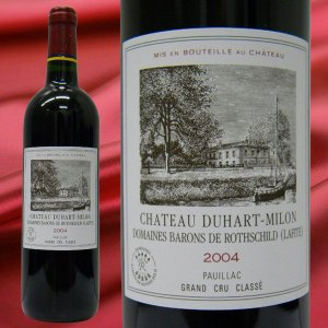 ワイン シャトー デュアール ミロン ロートシルト  2004 赤ワイン 750ml ボルドー ギフト プレゼント WINE|stary