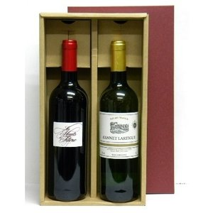 送料無料 直輸入フランスワイン2本セットB 紅白ワイン 750ml×2本 母の日 父の日 stary