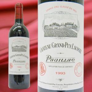 シャトー・グランピュイ・ラコスト 1993 赤ワイン 750ml|stary