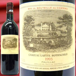 ワイン シャトー ラフィット ロートシルト  1993 赤ワイン 750ml フランス ボルドー サンテステフ フランス 赤ワイン ボルドー赤ワイン 赤重口 フルボディ|stary
