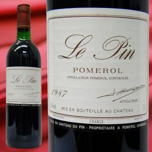 シャトー・ル・パン 1987 赤ワイン 750ml|stary