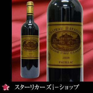 シャトー・バタイエ 2008  赤ワイン 750ml フランス/ボルドー/ポイヤック|stary