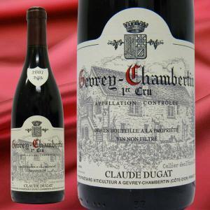 ドメーヌ・クロード・デュガ ジュヴレ・シャンベルタン1er Cru 2007 赤ワイン 750ml|stary