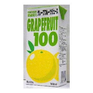 濃縮還元 マルサン グレープフルーツ100% 1L 1ケース6本入り|stary