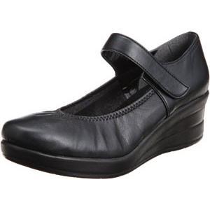 FIRST CONTACT ファーストコンタクト ラウンドトゥ パンプス 39046 甲ストラップ 美脚 ウェッジソール コンフォートシューズ レディース 靴 お取り寄せ商品