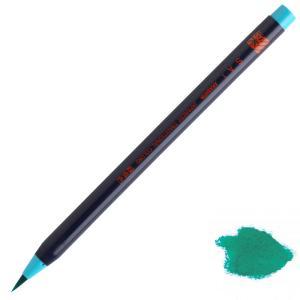 水彩毛筆「彩」緑青色|stationery-arnz