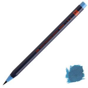 水彩毛筆「彩」藍色|stationery-arnz