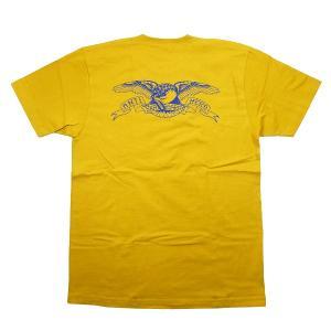 74ced4a23f776 シュプリーム SUPREME ×ANTIHERO 16SS Pocket Tee ポケット付きTシャツ マスタード Size L   新古品・未使用品